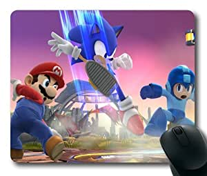 Super Smash Bros Game Mouse Pad/Mouse Mat Rectangle by ieasycenter