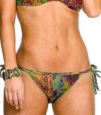 c38b048eca0 Amazon.com: Kiniki Amalfi Tan Through Tie Side Bikini Tanga Swimwear:  Clothing