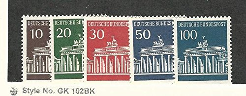 (Germany, Postage Stamp, 952-956 Mint NH,)