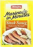 Adolph Steak Sauce Tenderizing Marinade, 1-Ounce (Pack of 8)