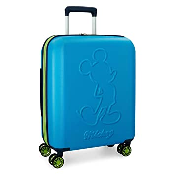 Disney Colored Equipaje Infantil, 55 cm, 38 litros, Azul: Amazon.es: Equipaje