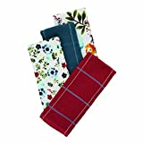 The Pioneer Woman Kitchen Towel Set Willow Collection 4 Pieces Dish Towel