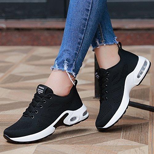 Entrenadores Ligero Correr Correr Entrenadores Nuevas Negro Aéreos Zapatillas Unisex Amaestrador Gimnasio Mujeres Jogging Zapatos Deportes de Gimnasio xq64zpg