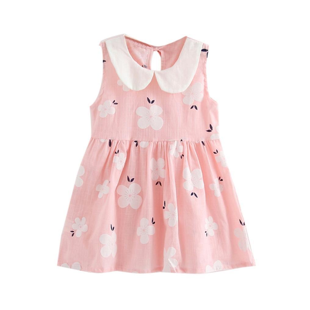 bdb6de292a82 Amazon.com  TiTCool Little Girls Dresses