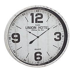 Deco 79 52129 Metal Wall Clock, 35