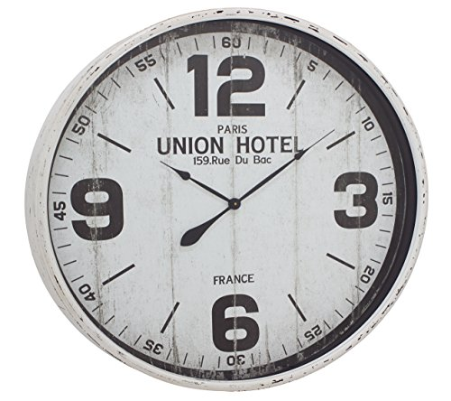 Deco 79 52129 Metal Wall Clock, 35″ For Sale