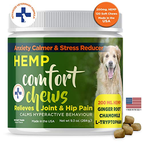 Dog Anxiety Relief treats with HEMP