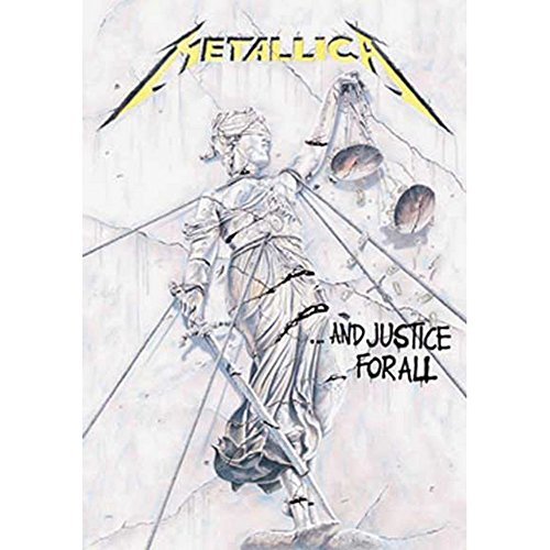 Tapestry Tee (Metallica And Justice For All Tapestry Cloth Poster Flag Wall Banner 30