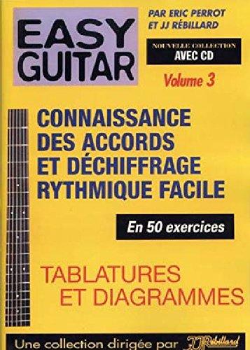 Métodos y de pedagogía JJREBILLARD REBILLARD EASY GUITAR VOL. 3 CD ...