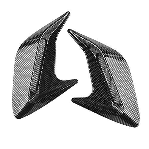 Andux Land Car Vent Grille Cover Decorative Air Flow Intake 2pcs JFK-02 (Carbon fiber) - Intake Side Vent