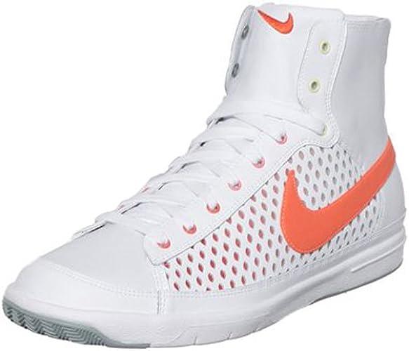 new design new concept usa cheap sale Amazon.com | Nike Womens Blazer Mid High Top White Leather ...