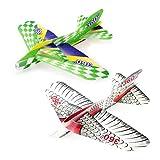 Generic Hand Throwing 360 Degree Speedy Circle Flying Foam Airplane Kid Fun Toy Gift