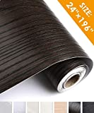 Oxdigi Brown Wood Contact Paper 24 x 196 inches Decorative Self Adhesive Wallpaper for Shelf Liners, Cabinets, Countertops, Closet, Drawer, Table Removable Waterproof Peel and Stick