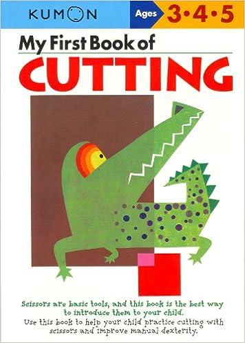 Workbook cutting worksheets : My First Book Of Cutting (Kumon Workbooks): Kumon: 9784774307084 ...