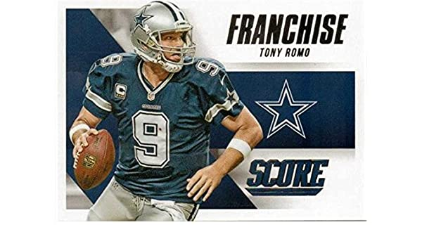 Tony Romo football card (Dallas Cowboys 5BL) 2015 Score Franchise  5 at Amazon s  Sports Collectibles Store 3dde1ec0b