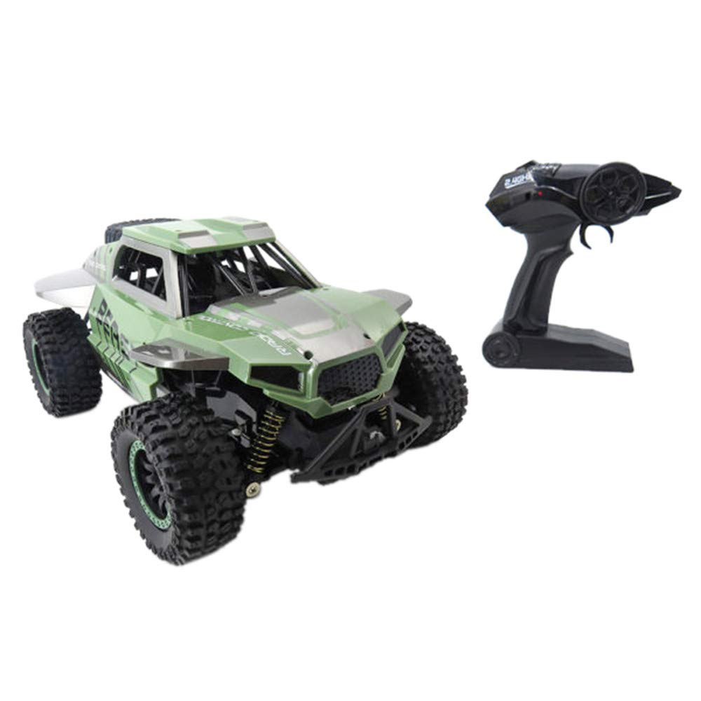 Sttech1 4WD 2.4Ghz RC Cars, SL-146A 1:18 High Speed Rock Off-Road Racing Vehicle Crawler Truck Car (Green)
