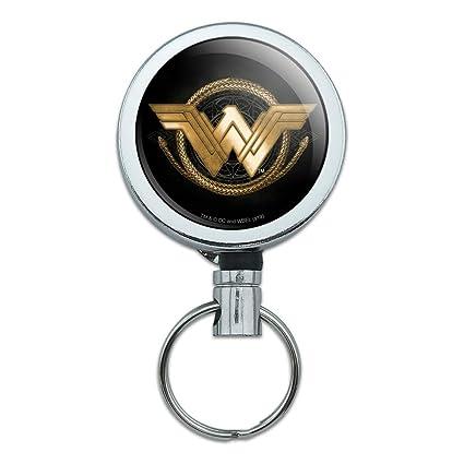 Amazon.com : Wonder Woman Movie Golden Lasso Logo Heavy Duty ...