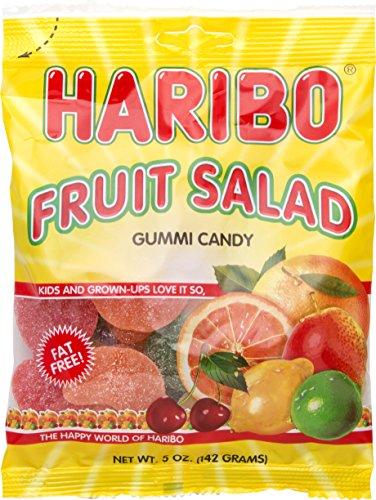 Gummi Fruit Salad - Haribo Gummi Fruit Salad 5 oz. - 3 packs