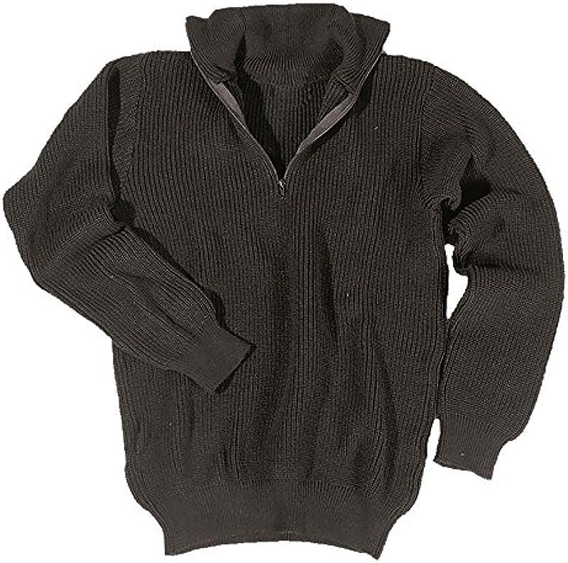 Sweter Troyer 750 g czarny: Odzież