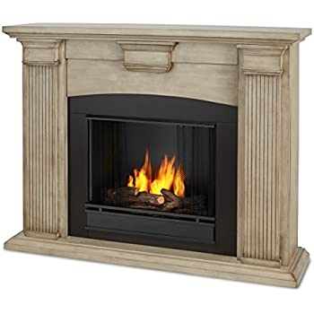 Amazoncom Calie Gel Fireplace In Mahogany Mahogany Home Kitchen - Ashley gel fireplace fuel