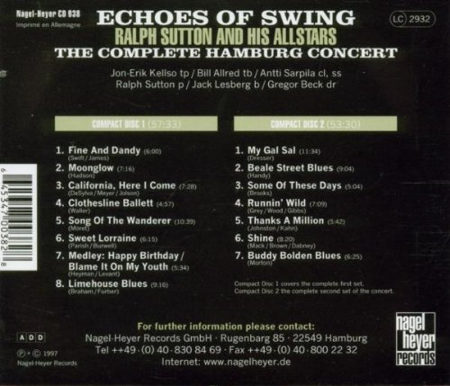 Echoes of Swing: Complete Hamburg Concert