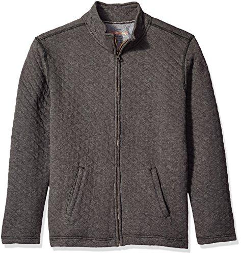 Quilted Hooded Zip Sweatshirt - 6