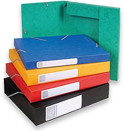 18515H A4 Exacompta Ref Purple 25mm spine Cartobox Glossy card index box
