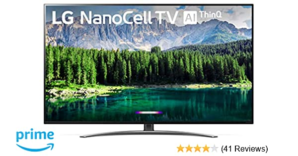 LG 65SM8600PUA Alexa Built-in Nano 8 Series 65