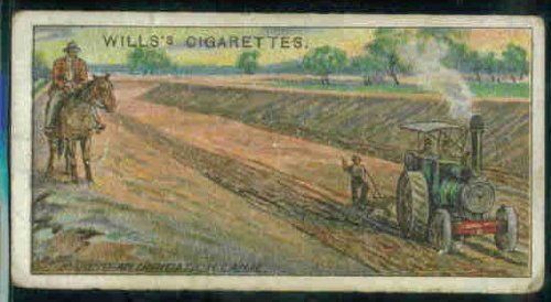 Irrigation Canal - Making An Irrigation Canal, New So.Wales 1915 Wills Cigarettes Overseas Dominions/Australia #9 (FAIR)