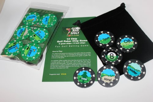 Golf Poker Chip Game