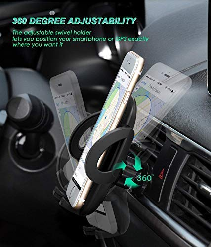 Google Nexus Car Phone Mount Air Vent Phone Holder for Car with Adjustable Car Phone Holder Cradle Compatible iPhone Xs//XS MAX//XR//X//8//8Plus//7//7Plus//6s Huawei and More Galaxy S7//S8//S9