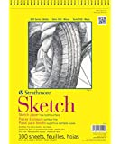 "Strathmore Sketch Spiral Paper Pad 9""X12""-100 Sheets"