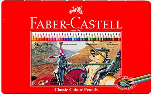 Pitt Monochrome Set (Faber Castell 36 Classic Color Pencils)