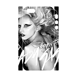 C-EUR Cell phone Protection Cover 3D Case Lady Gaga For Iphone 5,5S by mcsharks