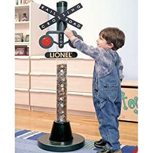 Amazon.com: LIONEL RAILROAD CROSSING BANK: Toys & Games