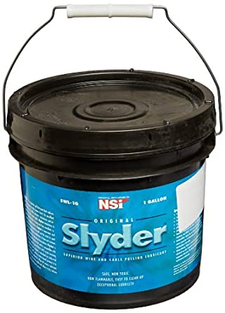 Wire-Pulling Lubricant, Slyder Standard Grade Cable Lubricant, 1 ...