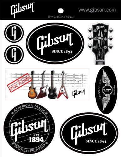 Gibson Gear G-STICKER1 Logo Stickers