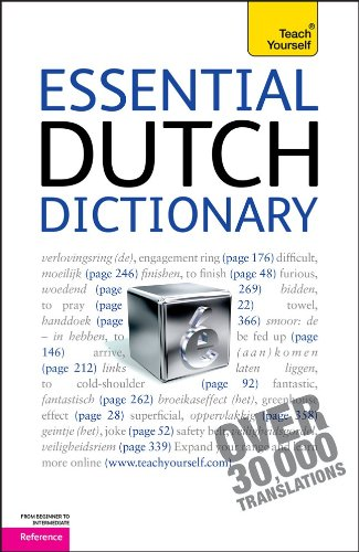 Essential Dutch Dictionary: A Teach Yourself Guide