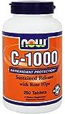[ お得サイズ ] ビタミンC 1000mg + ローズヒップ(タイムリリース) 250粒[海外直送品]