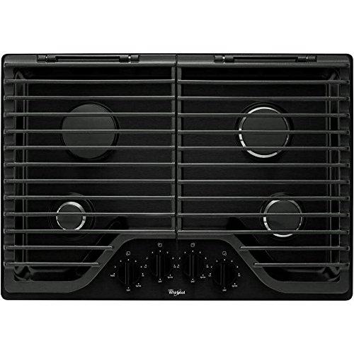 whirlpool 4 burner gas cooktop - 6
