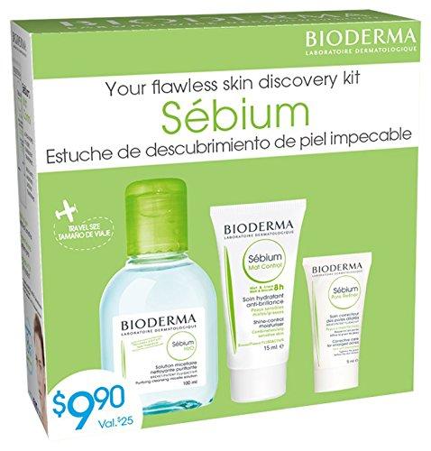 Bioderma Sebium The Discovery Kit 3 Piece Set