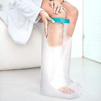Amazon.com: Doact - Funda para pierna de ducha, impermeable ...