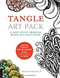 Tangle Art Pack: A Meditative Drawing Book and Sketchpad – Adapted from the Best-Selling Book One Zentangle A Day