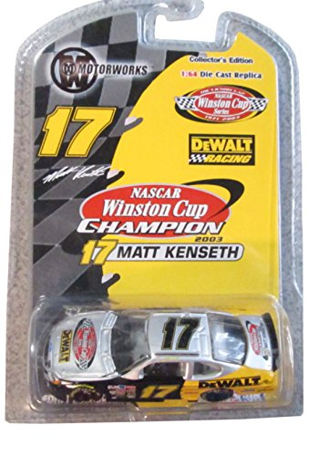 Matt Kenseth  17 Winston Cup Victory Lap Edition 1 64 Scale Team Caliber Motorworks Edition Car