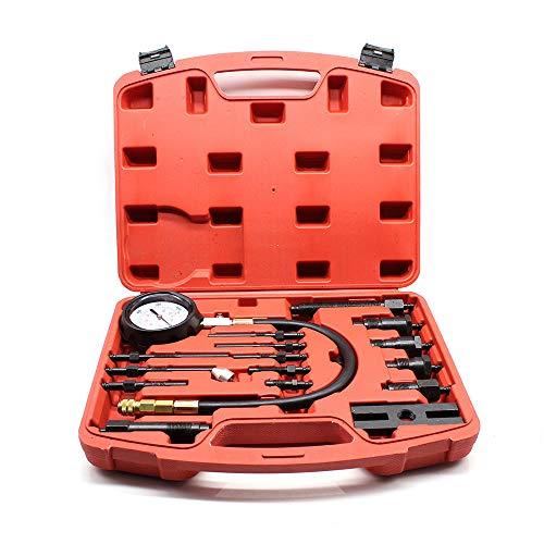 KAHE2016 Diesel Cylinder Pressure Gauge Auto Diesel Engine Compression Tester Car Compressor Guage Test Tool Kit:
