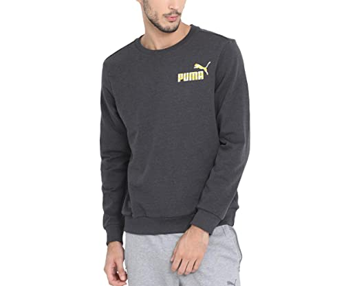 df2f07b6f211 Puma Mens Graphic Crew TR I Grey  Amazon.in  Shoes   Handbags