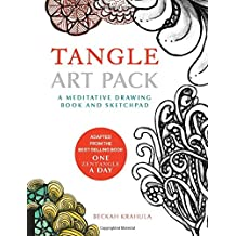 Tangle Art Pack: A Meditative Drawing Book and Sketchpad - Adapted from the Best-Selling Book One Zentangle A Day