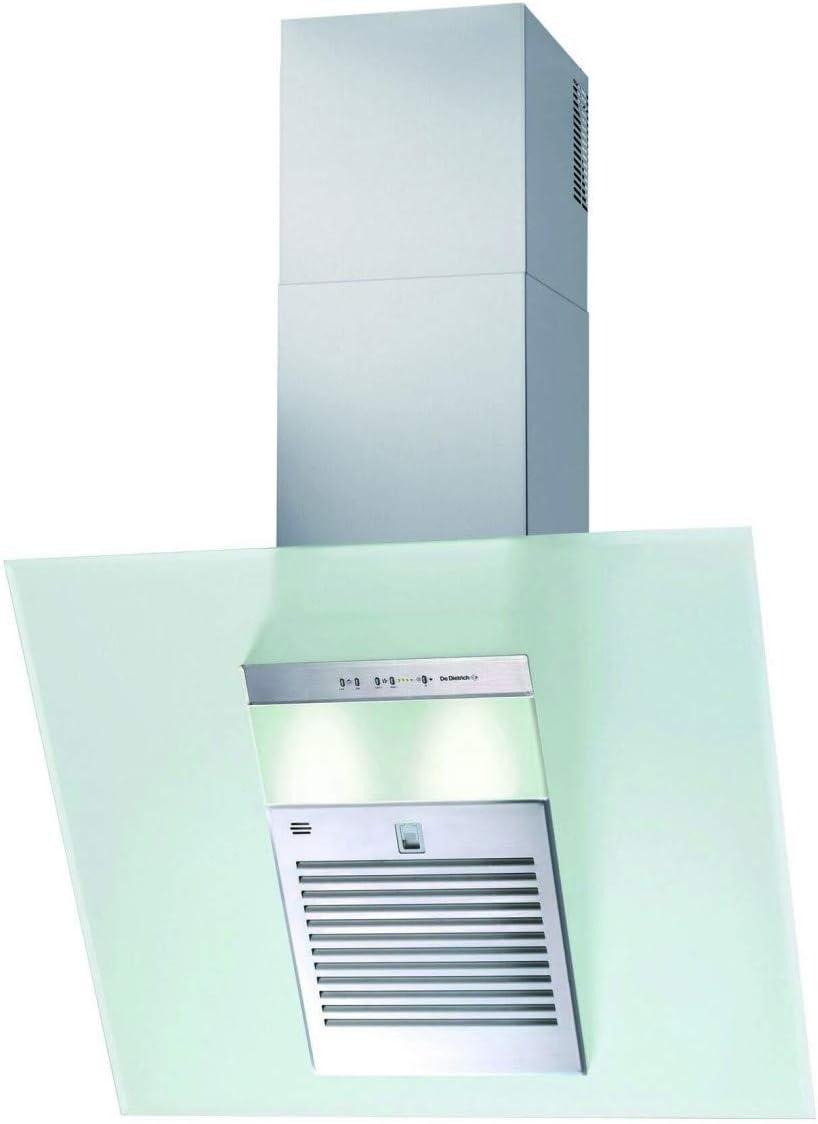 De Dietrich DHD497XE1 - Campana (740 m³/h, Canalizado/Recirculación, De pared, Acero inoxidable, Acero inoxidable, 20 W): Amazon.es: Hogar