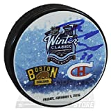Mike Condon Montreal Canadiens Signed Autographed 2016 Winter Classic Puck
