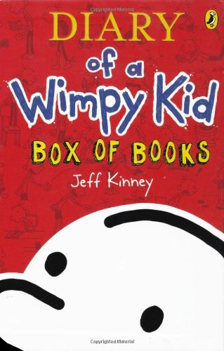 Diary of a wimpy kid box of books amazon jeff kinney diary of a wimpy kid box of books amazon jeff kinney 9780141341415 books solutioingenieria Choice Image